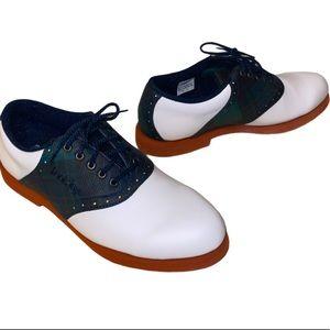 Foot joy golf shoes white green w Light spikes